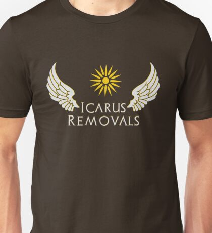 Icarus Removals (dark) Unisex T-Shirt