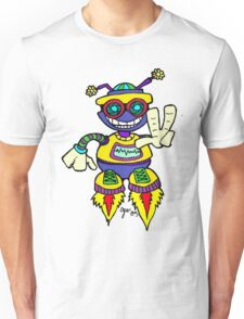 Too Cute Peace Robot Peace Unisex T-Shirt