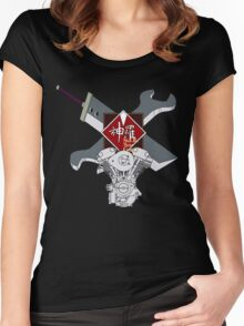Shinra Motor Company Women's Fitted Scoop T-Shirt
