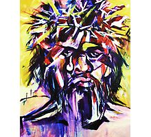 Black Christ Photographic Print