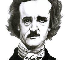 Edgar Allan Poe Sketch by almostproper