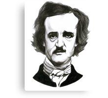 Edgar Allan Poe Sketch Canvas Print