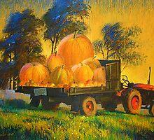 Harvest  by Guennadi Kalinine