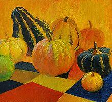 Pumpkins by Guennadi Kalinine