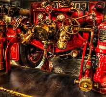 Vintage Fire Engine by Don Alexander Lumsden (Echo7)