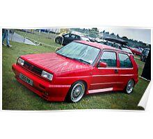 Golf Rallye G60 Poster