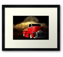 1949 GMC Cab Over Truck Framed Print