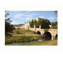 The Castle of Catajo Art Print