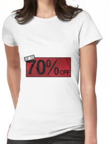 70% OFF! (Spoof!) Womens Fitted T-Shirt