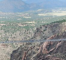 Highest Suspension Bridge in the World by TitusXavier