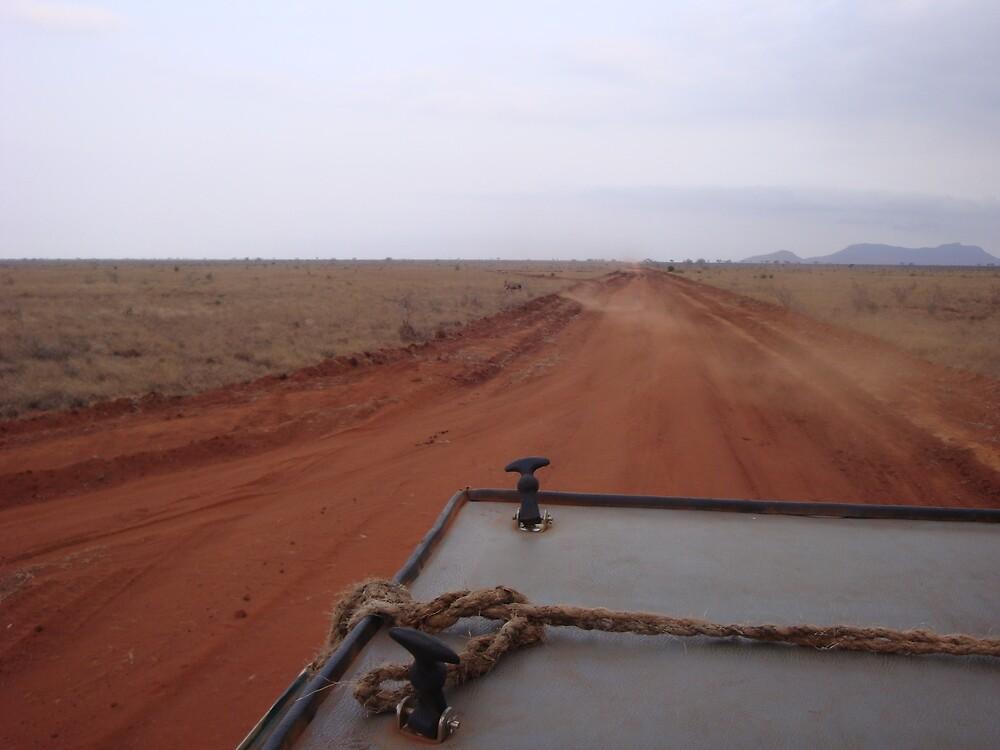 Kenyan Road by Noah  Shearer