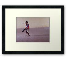 Kenyan Boy Framed Print
