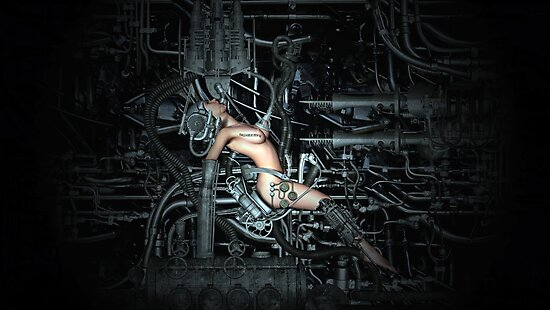 Cyborg Maintenance by Arthur Carley