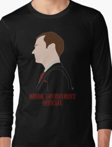 Minor Government Official [Red Tie Edition] T-Shirt