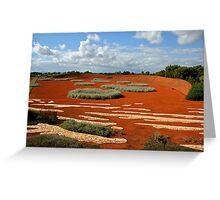 Desert Landscape Greeting Card