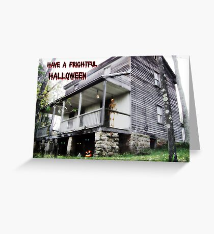 Frightful Halloween Greeting Card