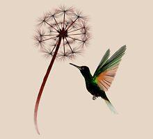 Dandelion and Little Green Hummingbird Unisex T-Shirt