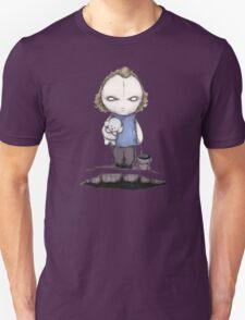 PUT THE PLUSHING LOTION IN THE PLUSHING BASKET Unisex T-Shirt