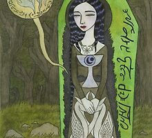 Snow White in her Glass Coffin by Bethy Williams