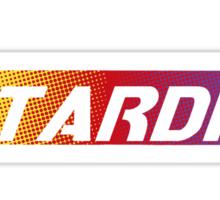 TARDIS Racing Sticker