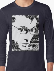 The Tenth Doctor Long Sleeve T-Shirt