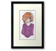 London Girl Framed Print