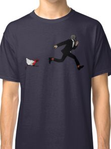 Leroy Having To Deal With The Unexpected Return Of That Dreaded No Good Evil Zombie Chicken Classic T-Shirt