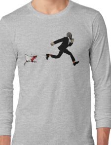Leroy Having To Deal With The Unexpected Return Of That Dreaded No Good Evil Zombie Chicken Long Sleeve T-Shirt