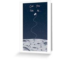 Far Above The Moon Greeting Card