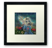 Alice in Wonderland by Molly Harrison Framed Print