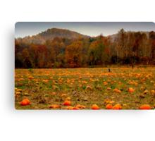 A Fall Scene - PUMPKIN PATCH ^ Canvas Print