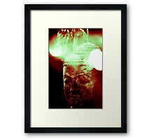 Head of buddha (8076) Framed Print