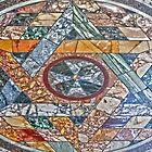 Sistine Chapel Marble Stone Marker by Fred Seghetti