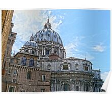 Vatican from Sistine Chapel Poster