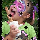 Face Paint and a Churro - Life Is Good by Eddie Yerkish