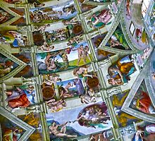 Sistine Chapel Ceiling by Fred Seghetti