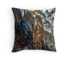 Lewis & Clark Caverns 1 (Montana, USA) Throw Pillow