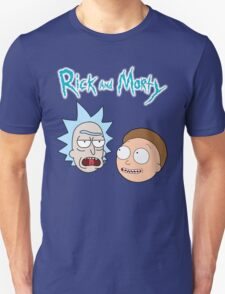 Rick Morty Funny Face T-Shirt