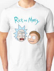 Rick Morty Funny Face T-Shirt