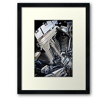 Big Block Framed Print