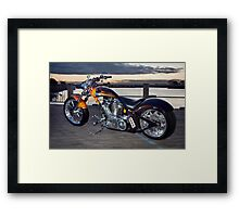 Scream Chopper Framed Print