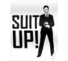 Barney Suit Up Poster