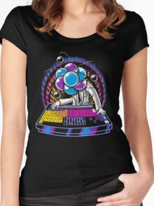 Periodic Turntable Women's Fitted Scoop T-Shirt