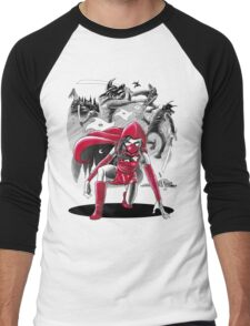 Ninja Red Riding Hood Men's Baseball ¾ T-Shirt