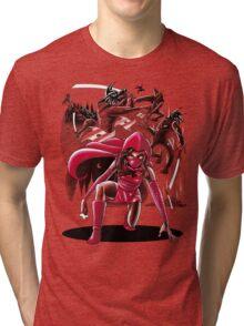 Ninja Red Riding Hood Tri-blend T-Shirt