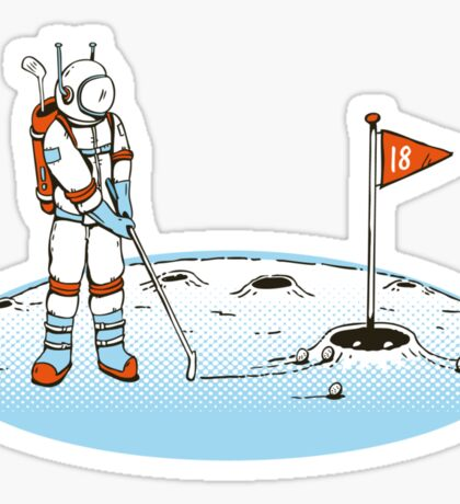Lunar Golf 2000 Sticker