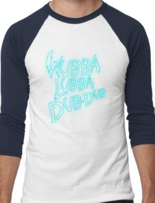 Rick & Morty-Wubba Lubba Dub Dub Logo! Men's Baseball ¾ T-Shirt