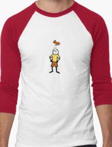 Life is mediocre. Men's Baseball ¾ T-Shirt