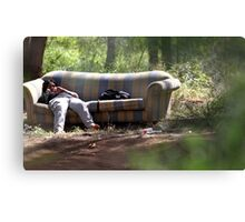 Lounge in the Woods Canvas Print