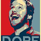 "Andy Dwyer - Obama ""Dope"" Poster by slitheenplanet"